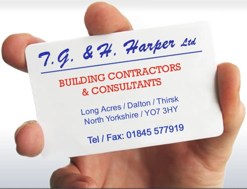 T. G. & H. Harper Ltd : Building Contractors Thirsk