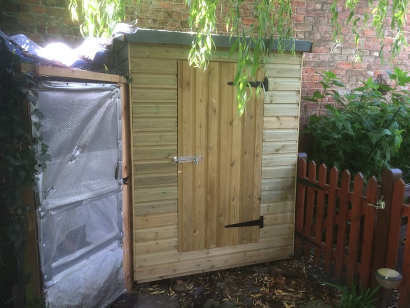 Garden Sheds Yorkshire garden shed construction & installation thirsk, north yorkshire